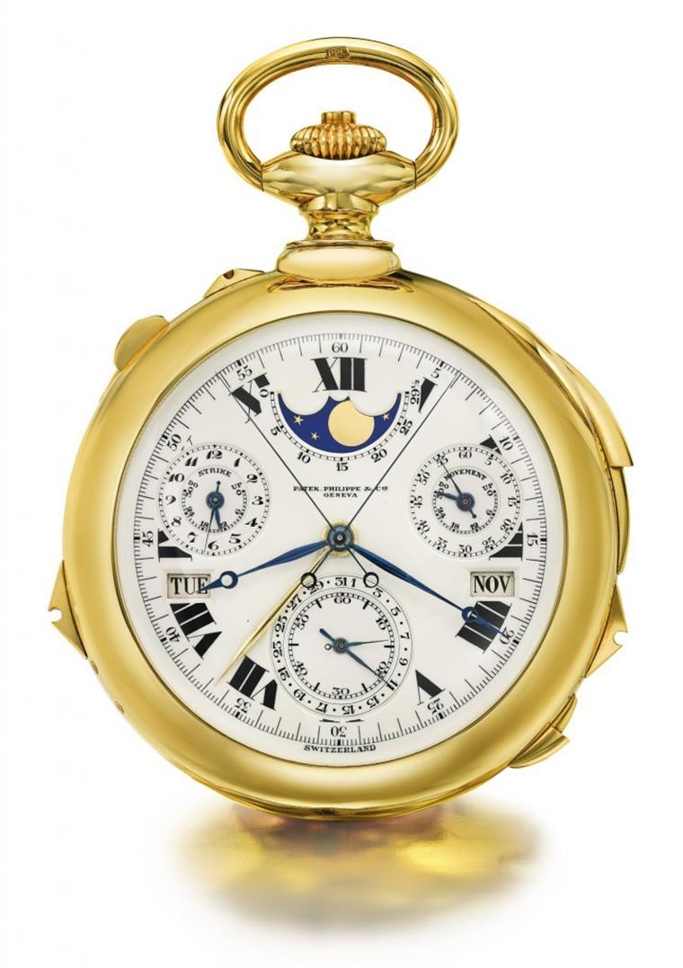 8864daebc7b Este relógio vale 12 milhões de euros
