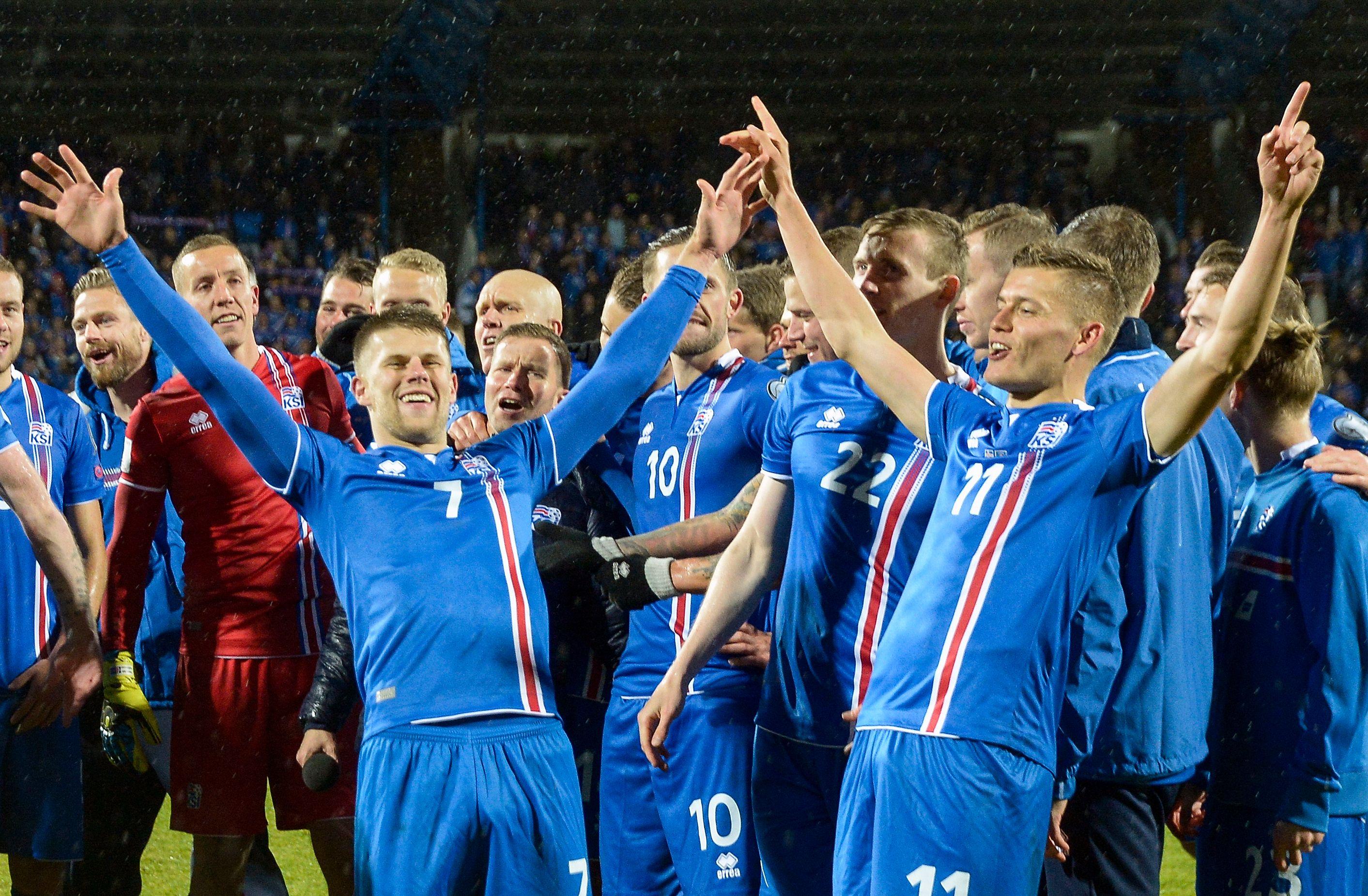 De queridinha da Eurocopa à classificação inédita no Mundial — Islândia