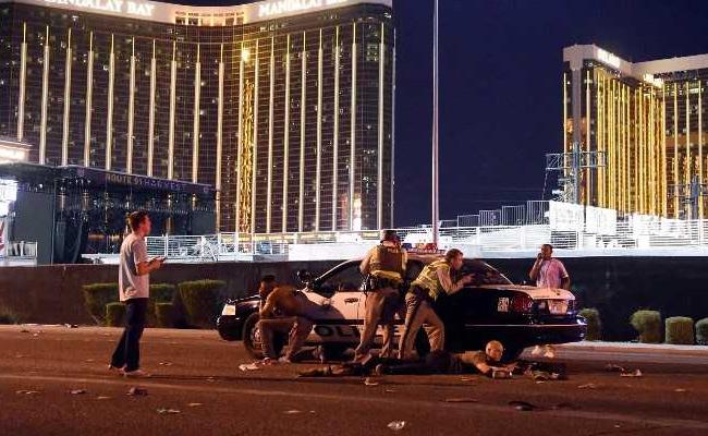 Vídeo mostra tiroteio em Las Vegas