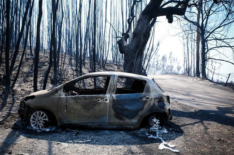 Incêndios: Proteção Civil divulga lista com nomes das vítimas