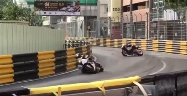Piloto britânico morre em acidente no Grande Prémio de Motos de Macau | VÍDEO