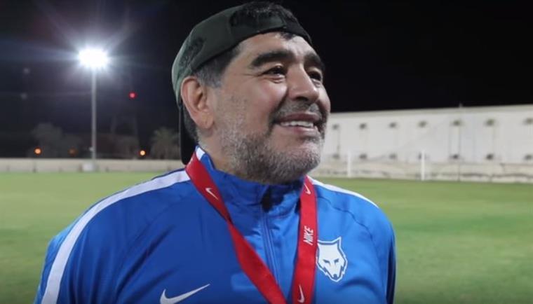 Ronaldo o melhor de sempre? A reação de Maradona é imperdível | VÍDEO