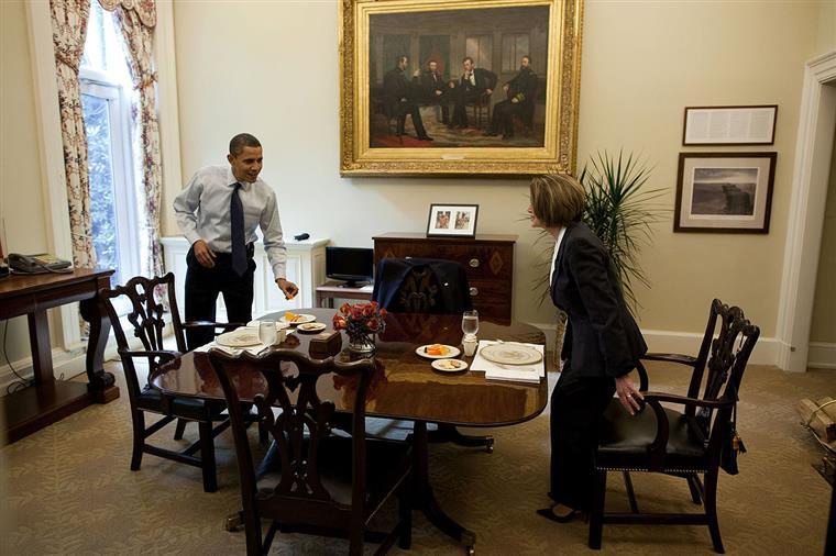 A Casa Branca De Obama Numa Com Dia Televisiva