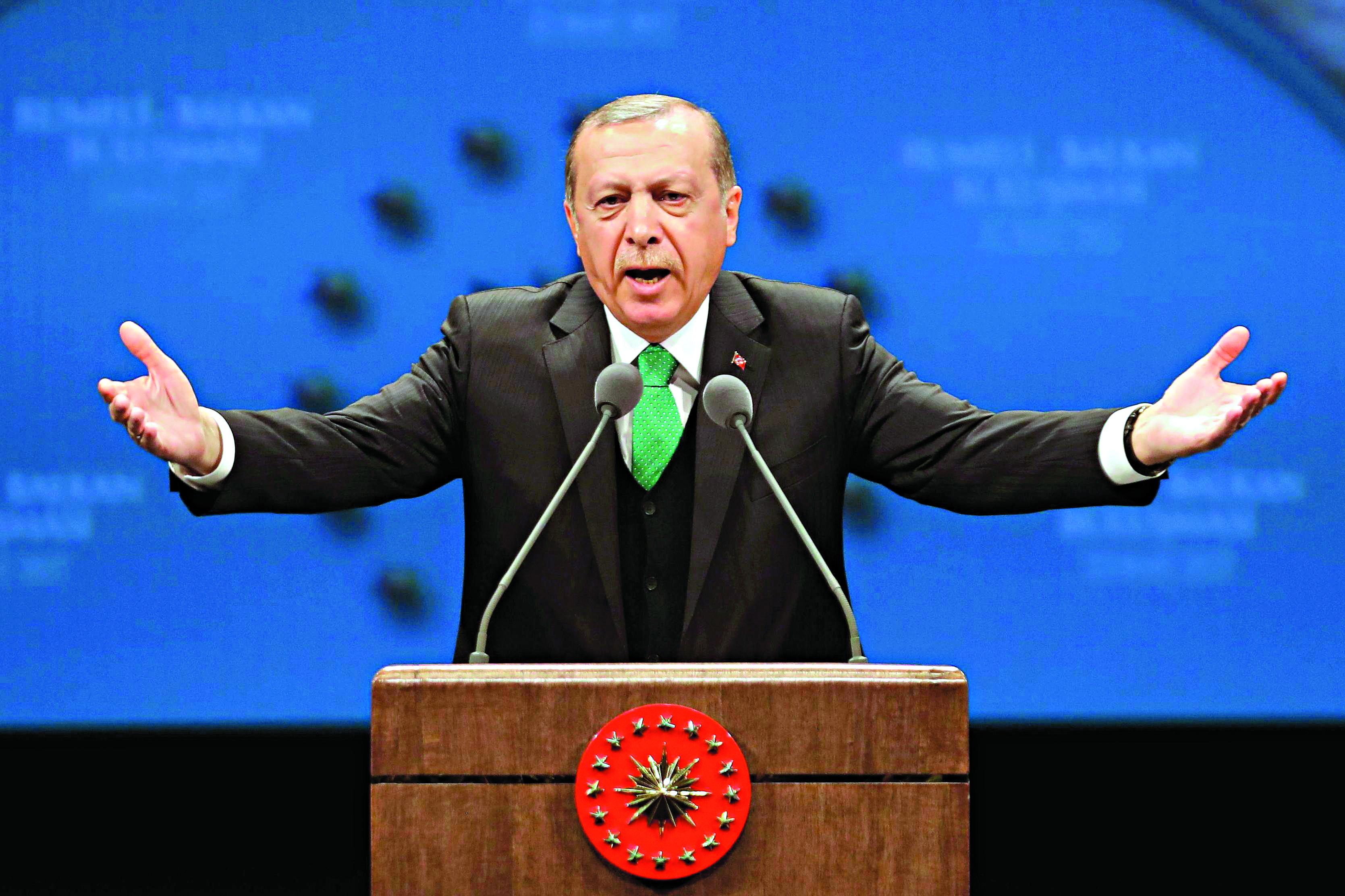UE convoca embaixador turco após declaração de Erdogan