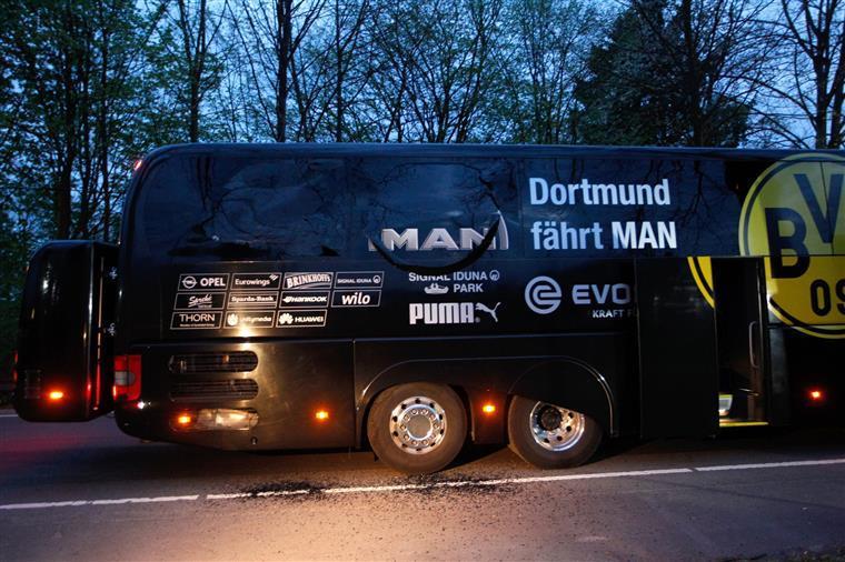 Detido suspeito de ataque ao autocarro do Borussia