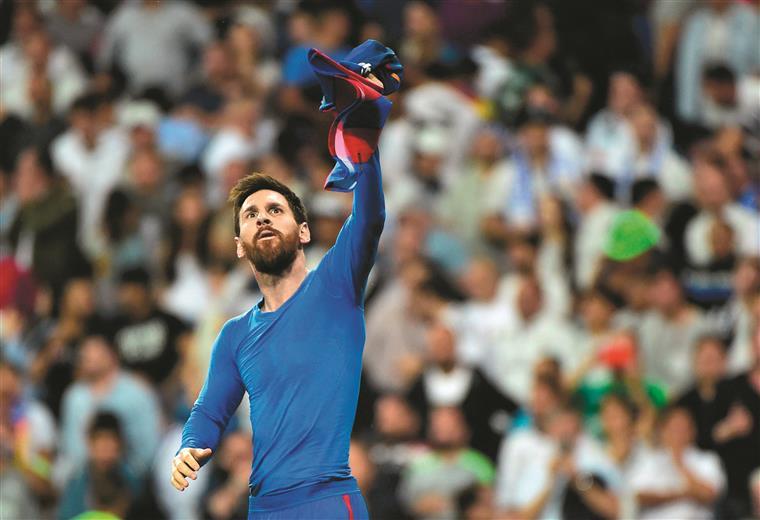 Messi, Messi e Messi! Tantas e tantas vezes Messi!!!