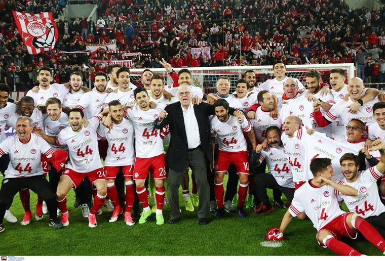 Grécia. Federação confirma sétimo título consecutivo do Olympiacos