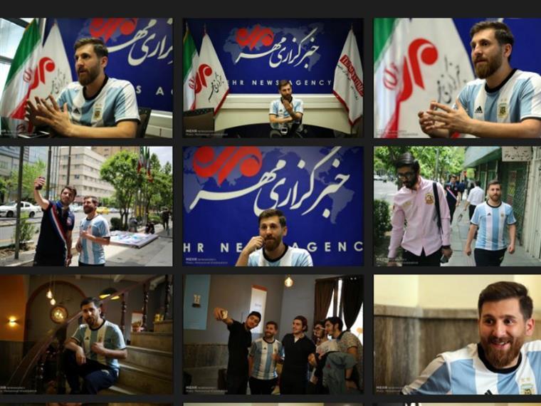 O Messi do Irão: não joga à bola, mas já é famoso