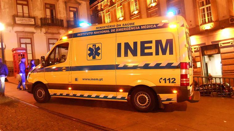 Oito concelhos sem ambulâncias do INEM à noite