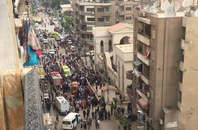 """Atentados matam pelo menos 22 pessoas em igrejas do Egito"""""""