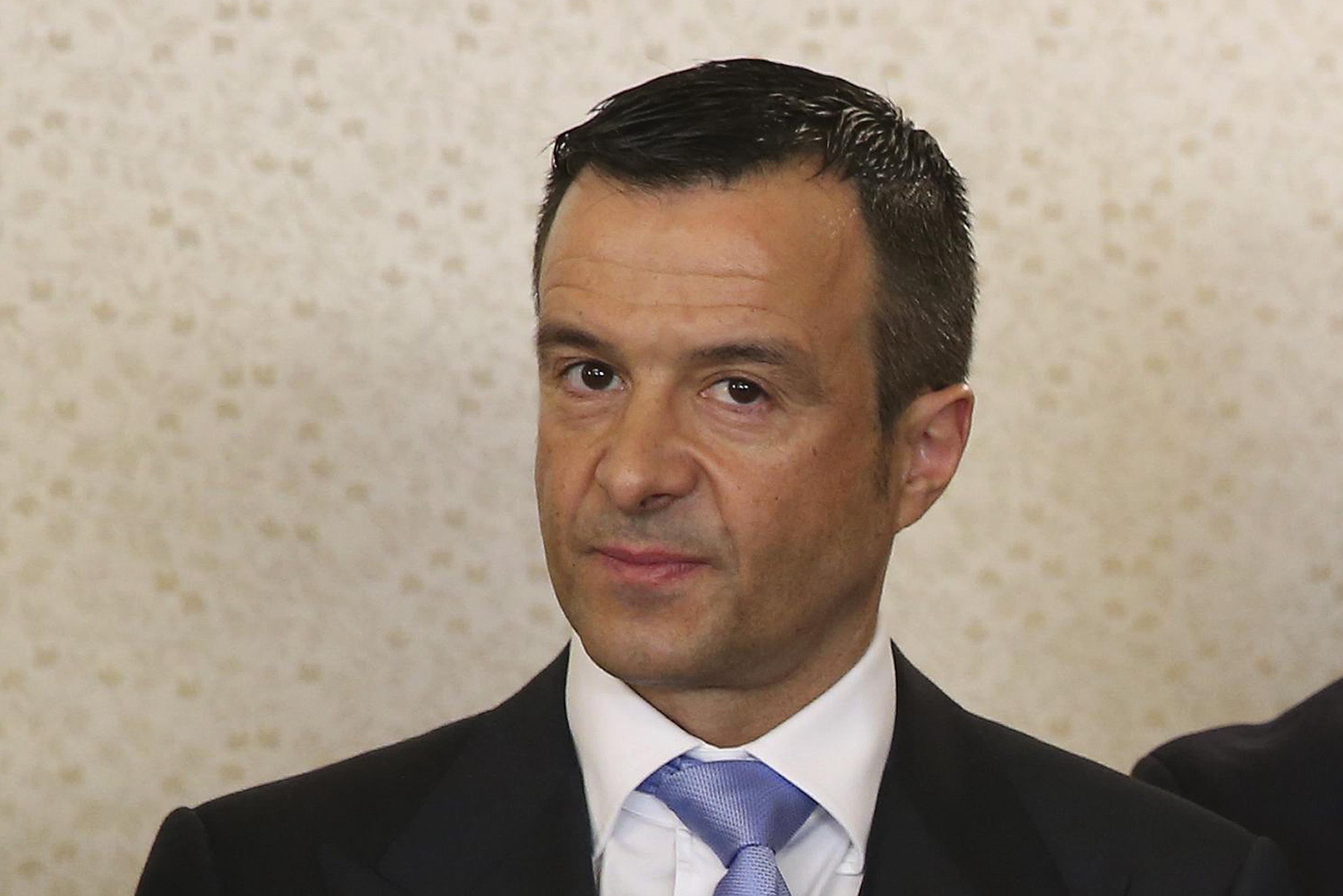 Falcão aponta o dedo a Jorge Mendes no caso de fraude fiscal