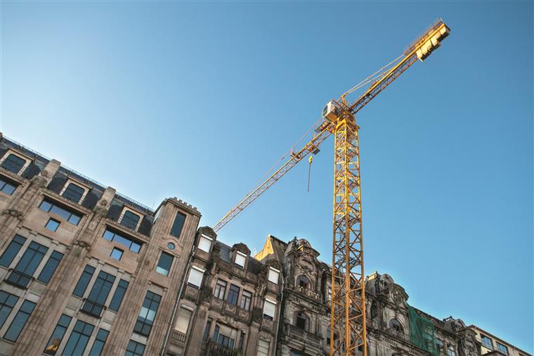 Construção dá sinais de alívio