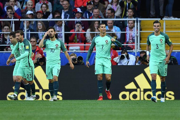 Taça das Confederações. Portugal já conhece adversário