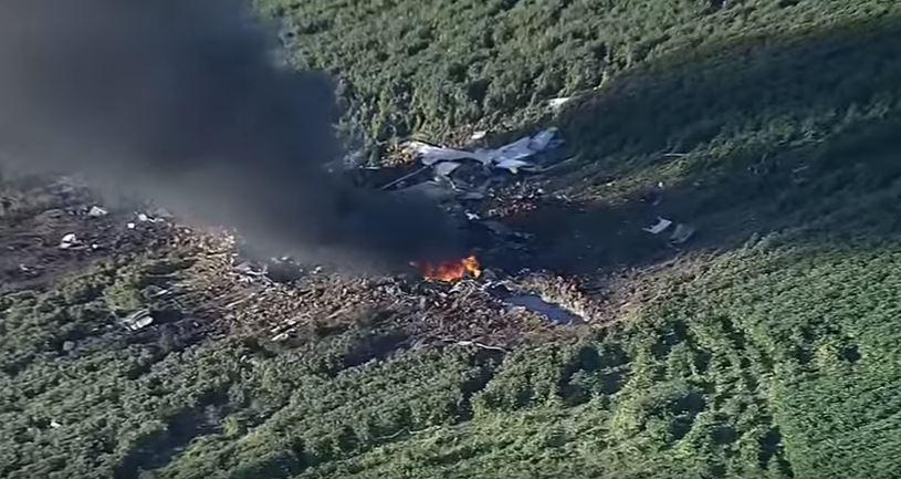 Queda de avião militar dos EUA deixa 16 tripulantes mortos no Mississippi