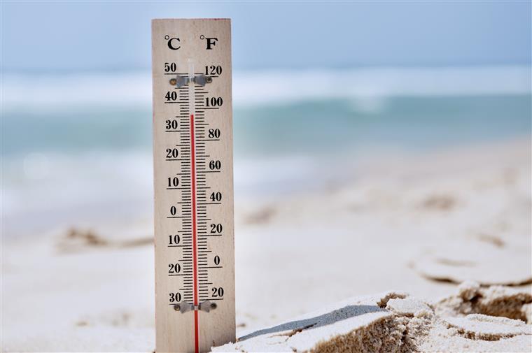 Tempo. Temperaturas vão descer no fim de semana