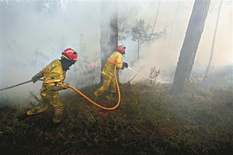 Incêndio em Vila Velha de Ródão está