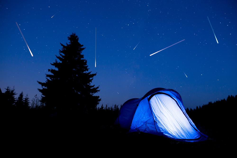 Reserve um pouco do seu sábado para uma chuva de meteoros