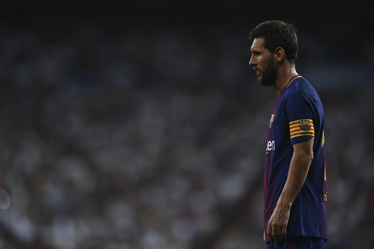 Estará Messi de saída do Barça?