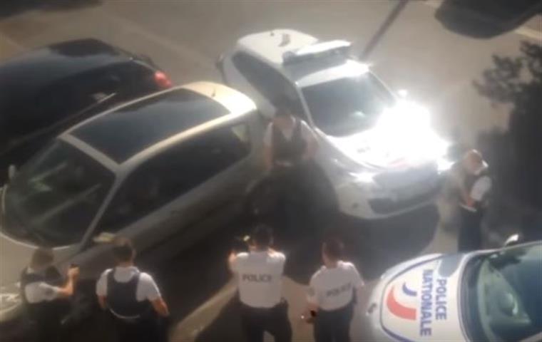 Português abatido pela polícia francesa