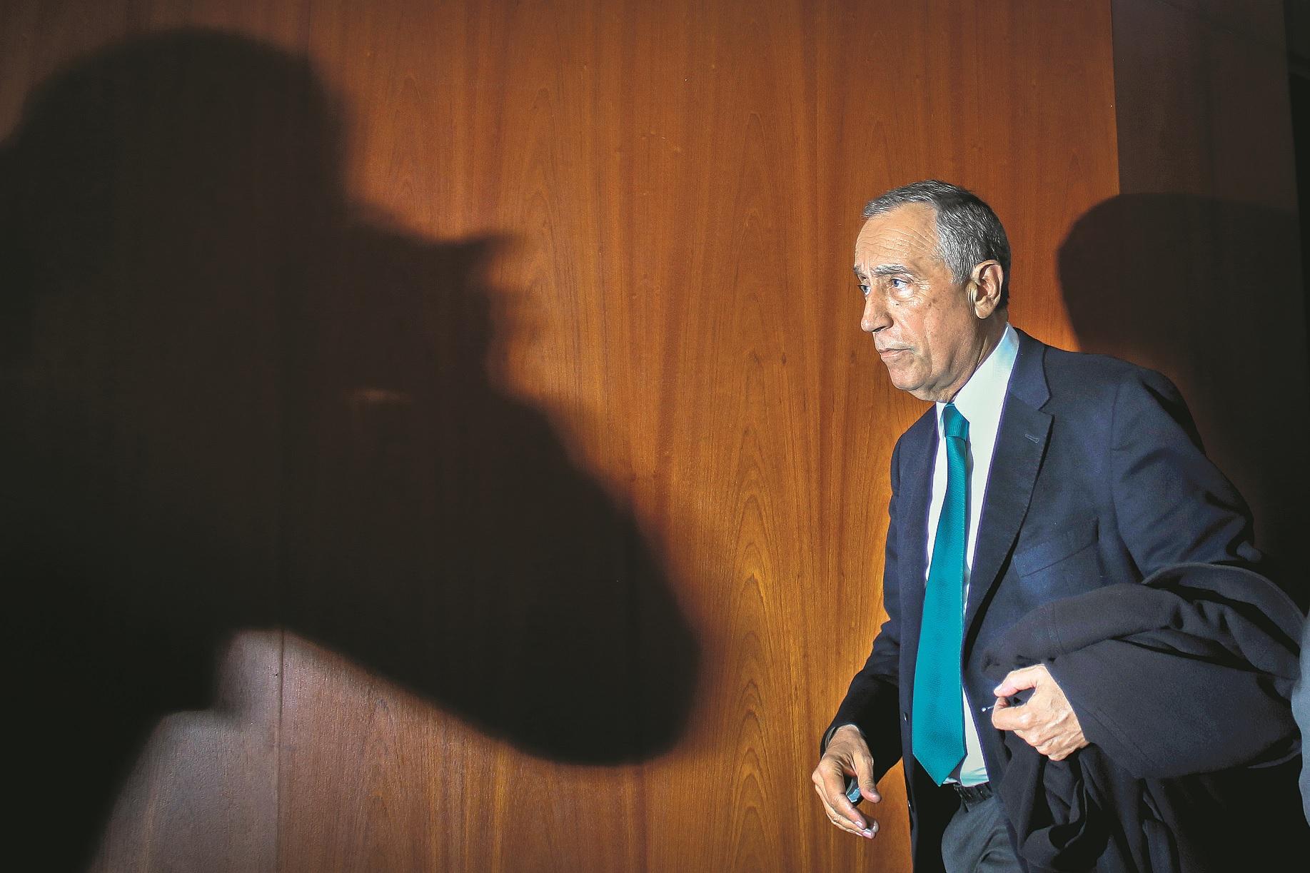 Marcelo recebeu Presidente brasileiro em Belém