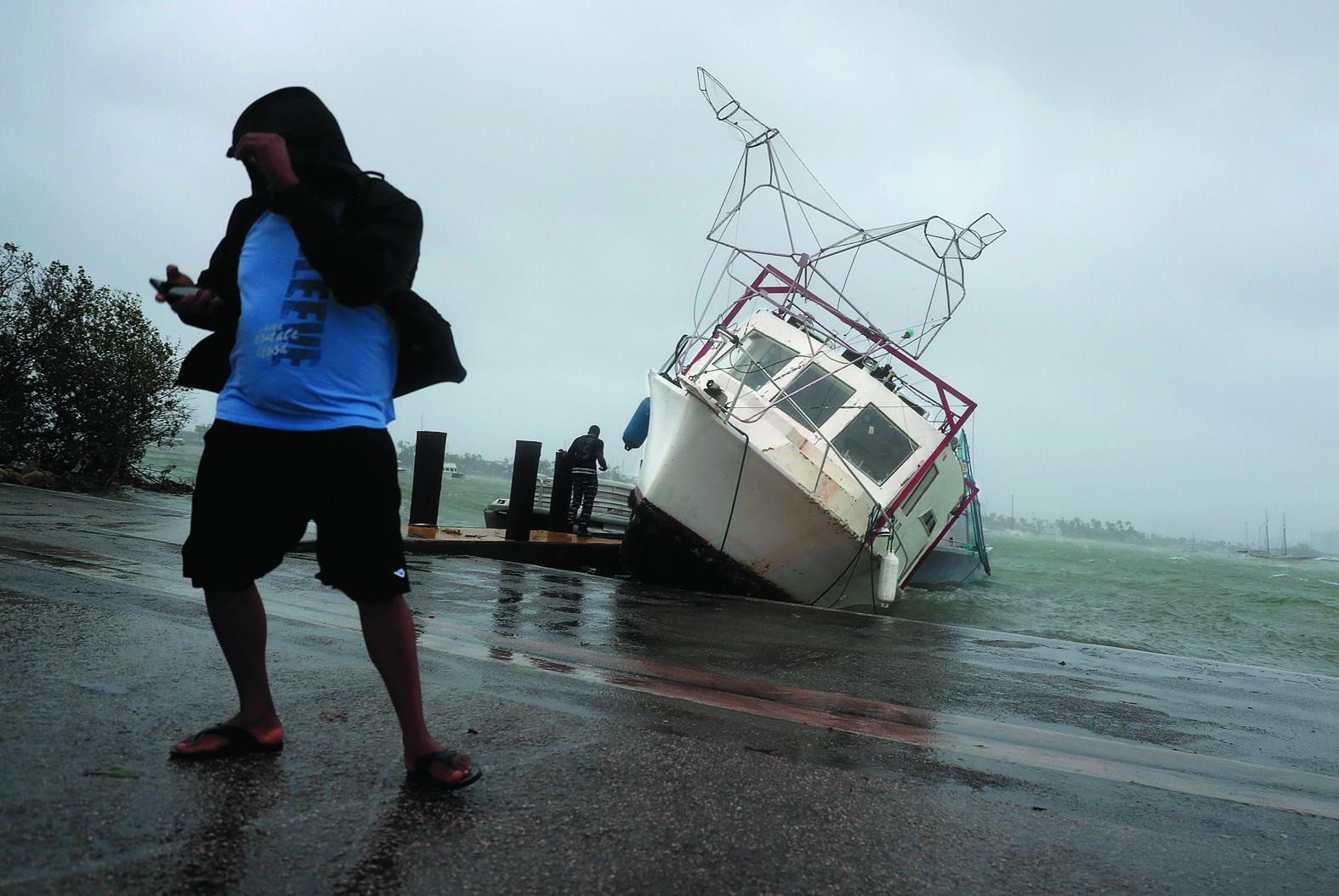 EUA: tornados, chuva e vento forte já atingem sul da Flórida