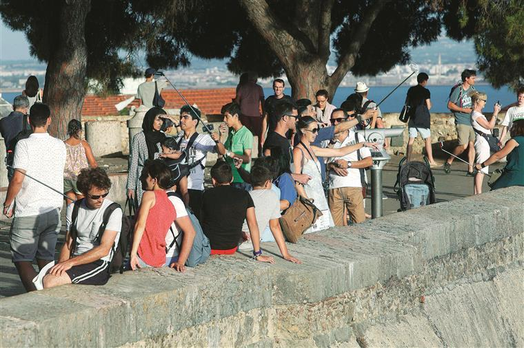 Procura turística no Centro cresce três vezes mais que a média nacional