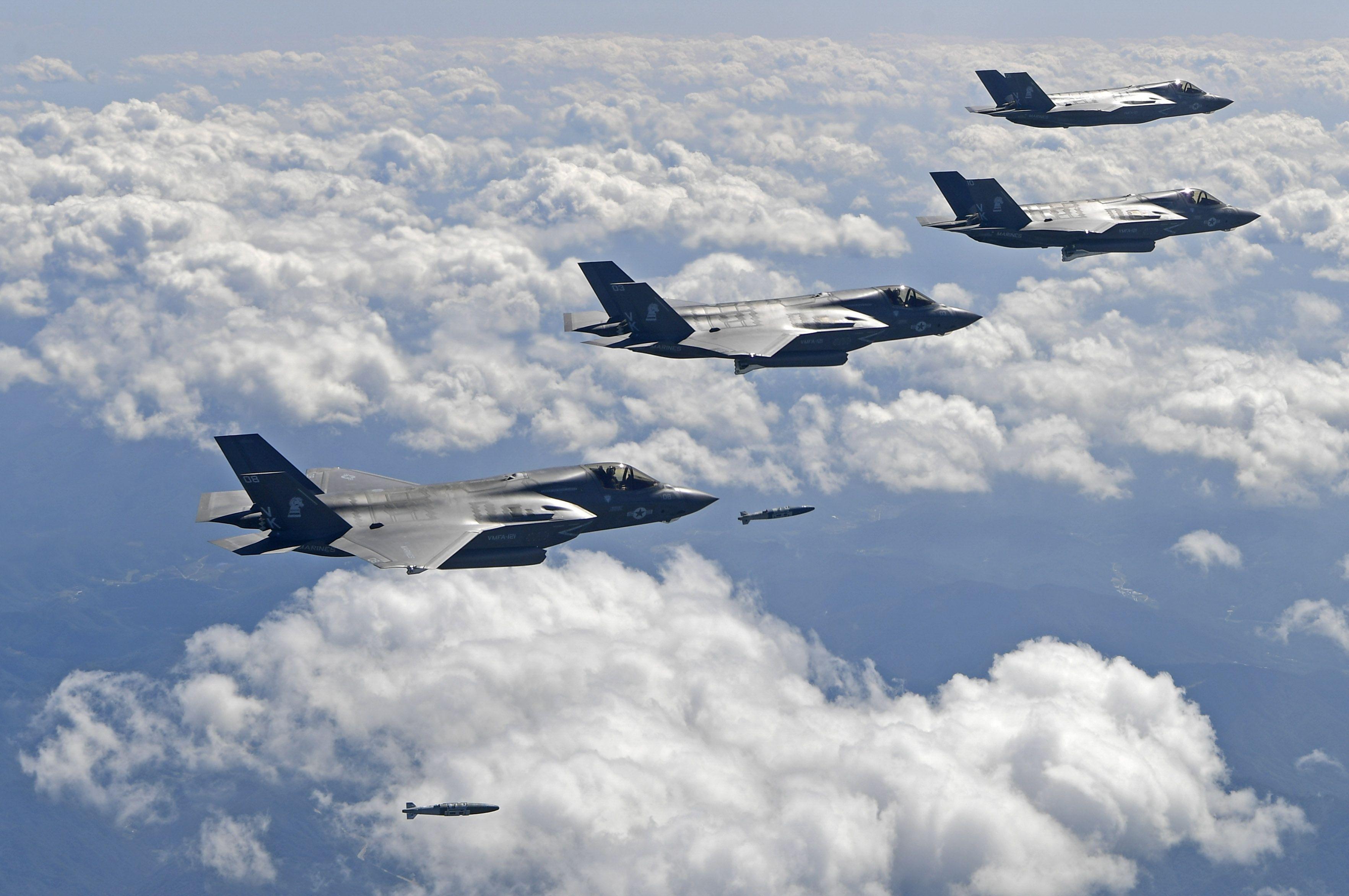 EUA e Coreia do Sul realizam novos exercícios militares