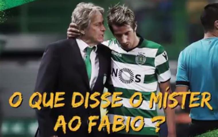 Sporting 'revela' o assunto da discussão entre Jorge Jesus e Fábio Coentrão   Vídeo