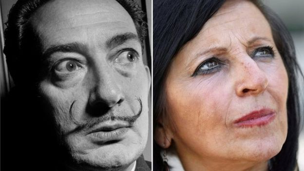 Espanhola que exigiu exumação de Dalí não é sua filha