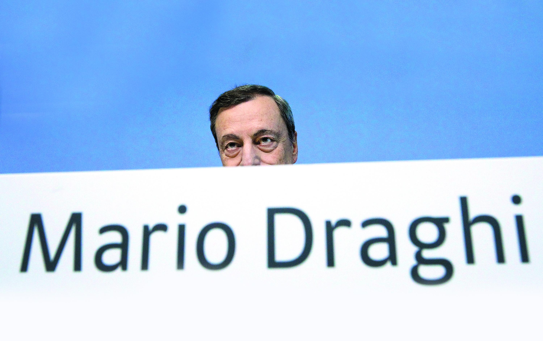 Draghi: Subida do euro é uma fonte de