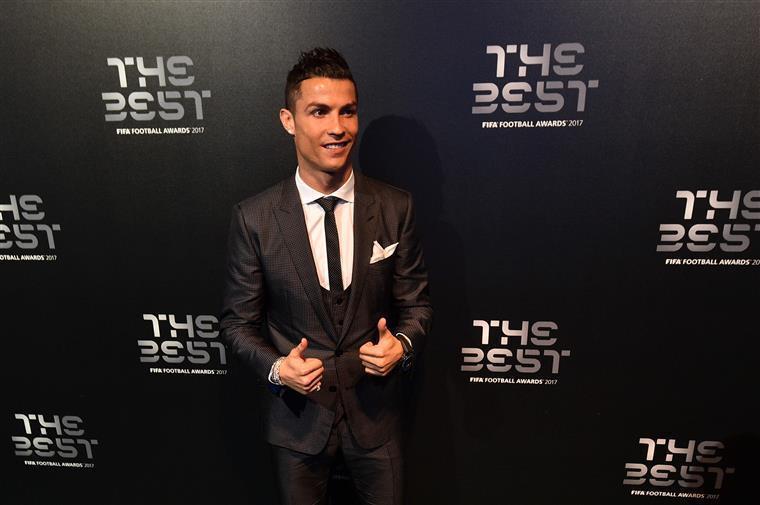 Cristiano Ronaldo nomeado para Desportista do Ano nos prémios Laureus