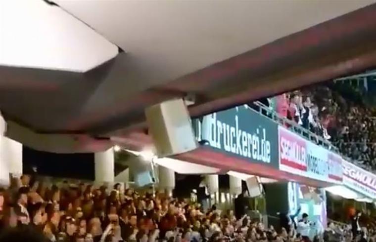 Estádio do Estoril não é caso único. Estádios tremem por todo o mundo | VÍDEO