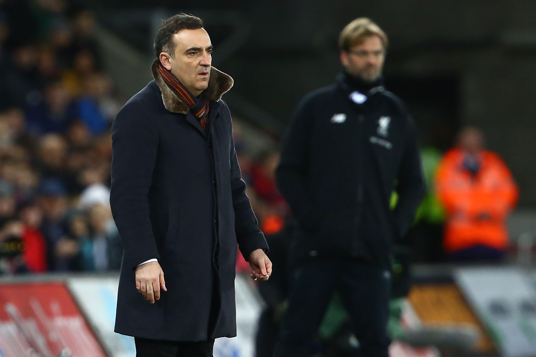 Swansea de Carlos Carvalhal derruba Liverpool de Klopp