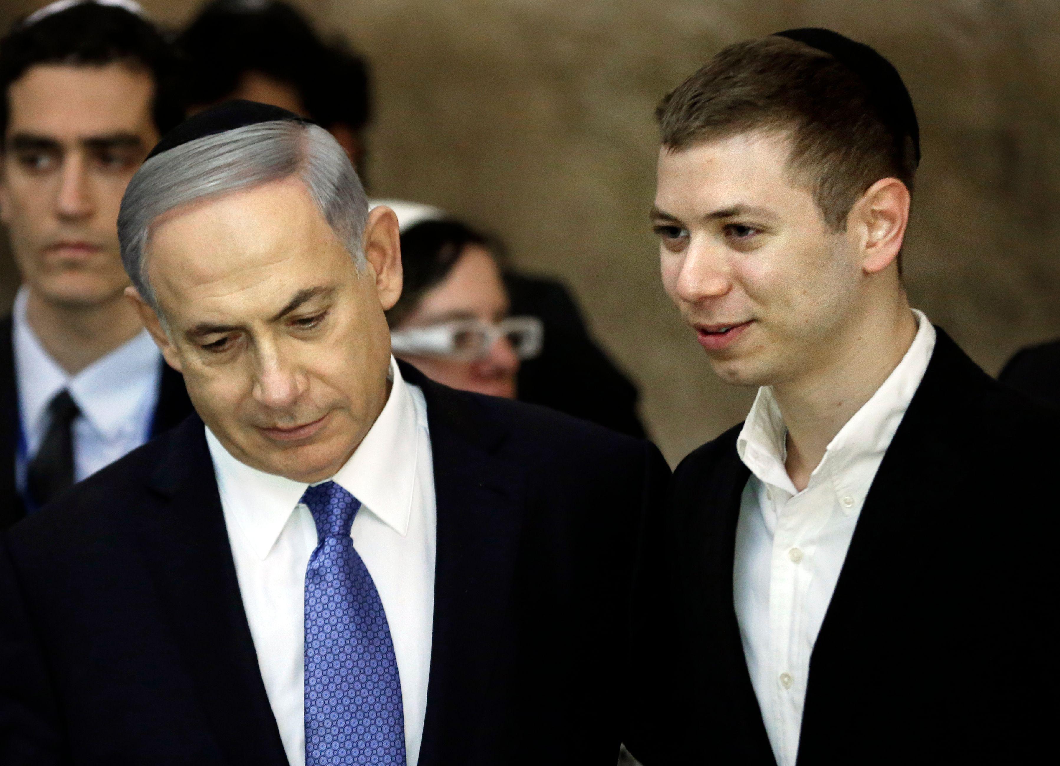 Filho de Netanyahu era frequentador de clubes de strip-tease, diz imprensa