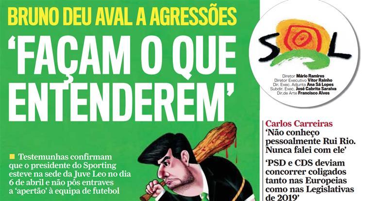 Bruno de Carvalho: 'Façam o que quiserem'