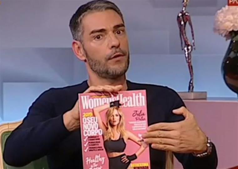 """""""Se a Joana não tivesse feito aqueles comentários, a Júlia não estava aqui nesta revista'"""