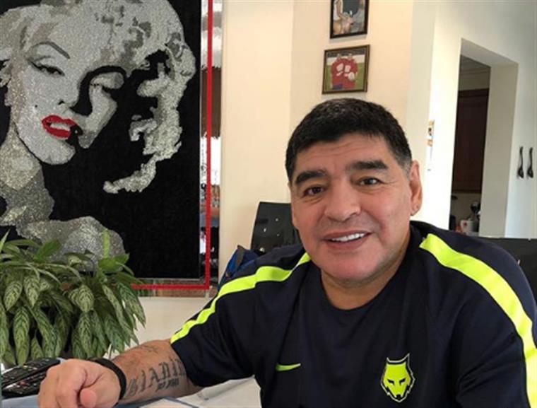 Maradona insulta Trump e fica impedido de entrar nos EUA