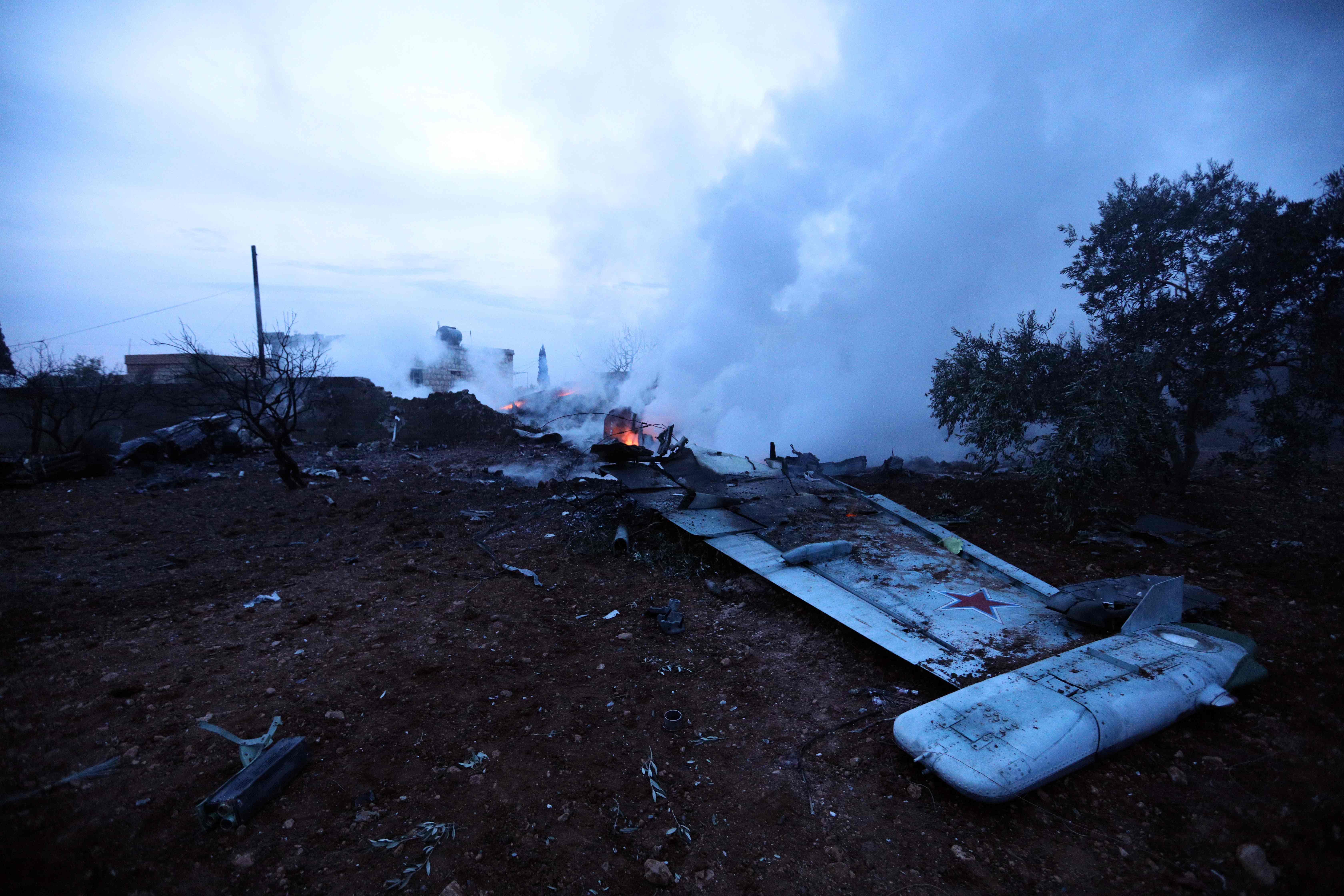 Síria. Grupo armado abate avião russo e captura piloto