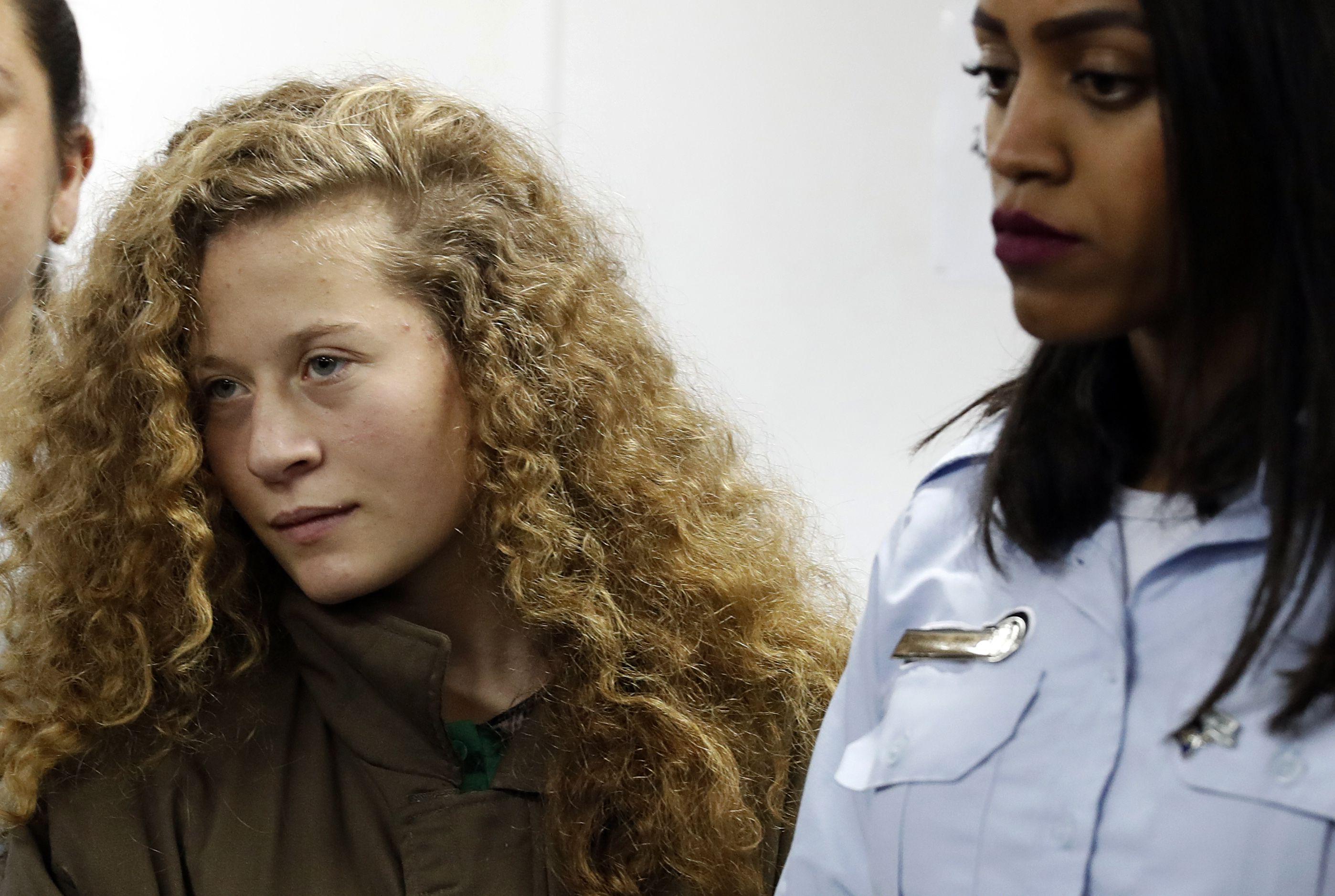 Adolescente palestina que agrediu soldados israelenses é condenada