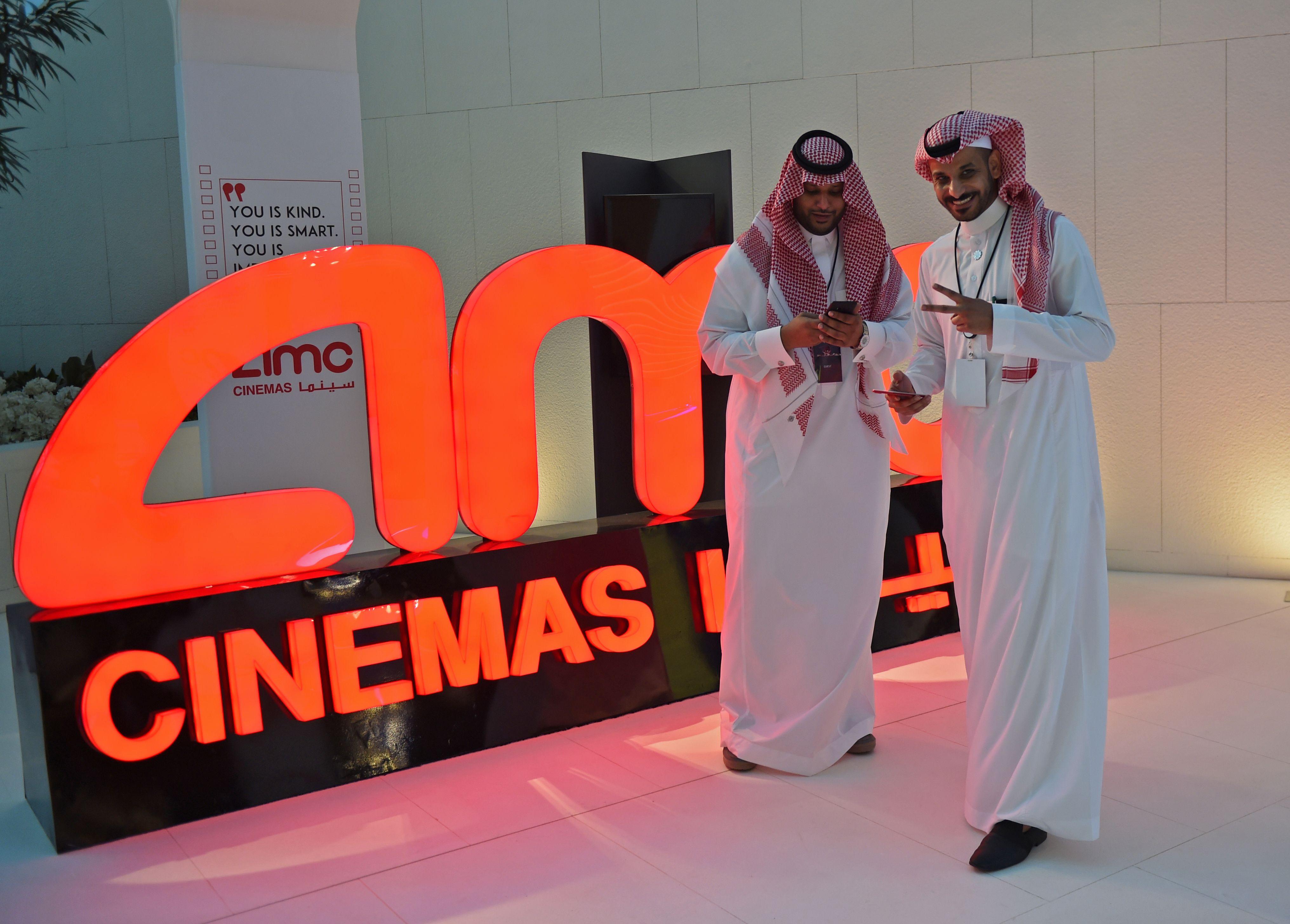 Ditador da Arábia reabre salas de cinema