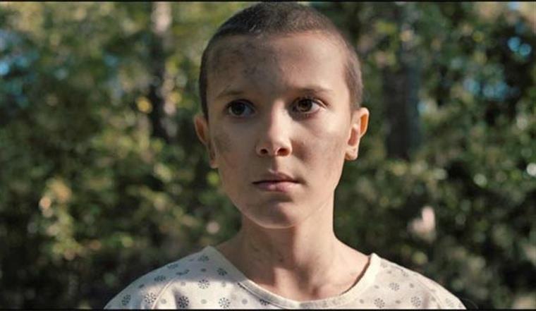 Millie Bobby Brown. 'Eleven' é uma das cem mais influentes do mundo