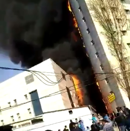 Incêndio de grandes dimensões destrói hospital em Istambul |VÍDEO