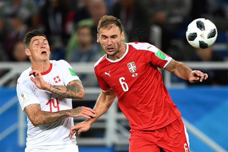Mundial 2018. Suíça vence Sérvia já depois do minuto 90