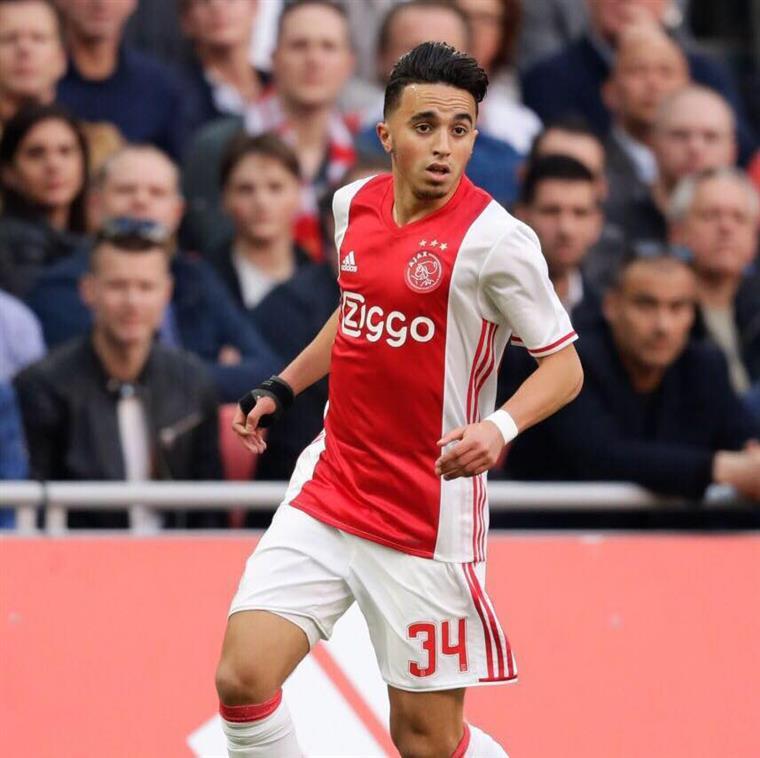 Holanda. Promessa do Ajax já comunica com a família