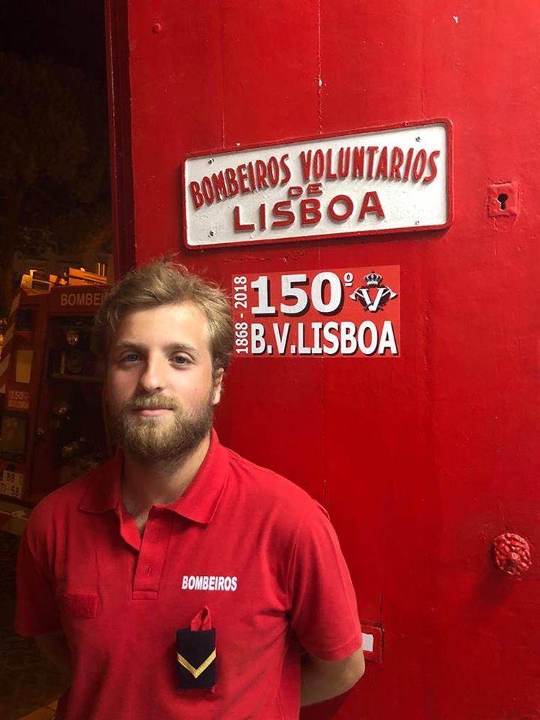 Filho de D. Duarte faz parte dos Bombeiros Voluntários de Lisboa 5222f5e8a04