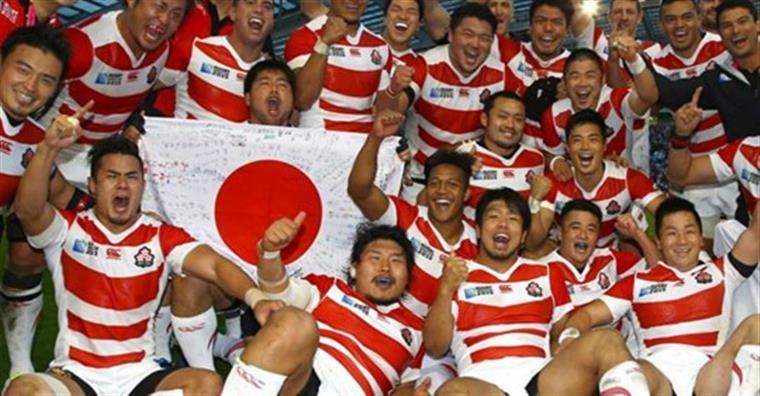 Râguebi. Japão faz história no Mundial