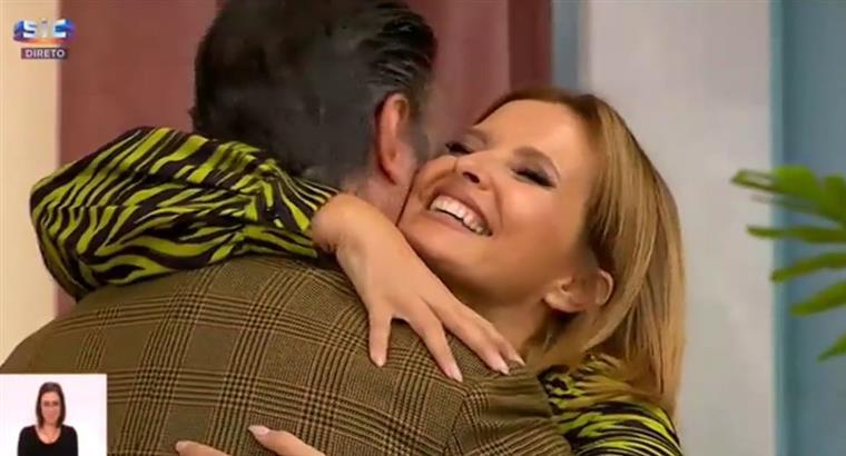 """Deputado e ex-diretor da TVI deixa Cristina Ferreira emocionada: """"Amo-te muito"""""""