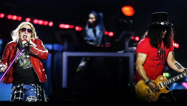Guns N' Roses de regresso a Lisboa