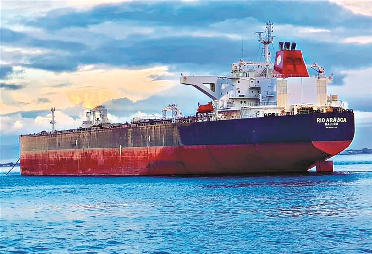 Tripulação do petroleiro Rio Arauca será dispensada