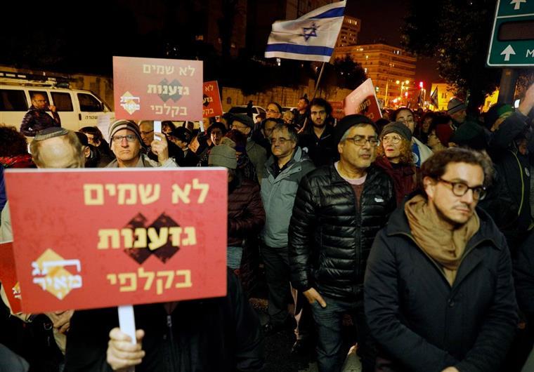 Candidatos que questionem Estado judaico proibidos de concorrer